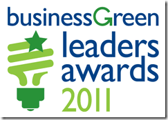Business Green Leader Award 2011