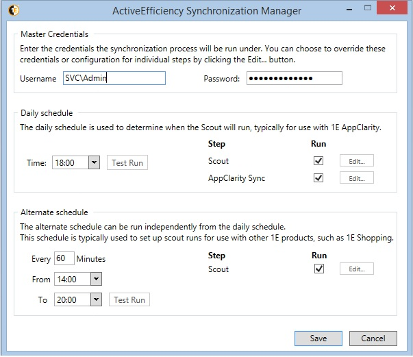 ActiveEfficiency Sync Manager