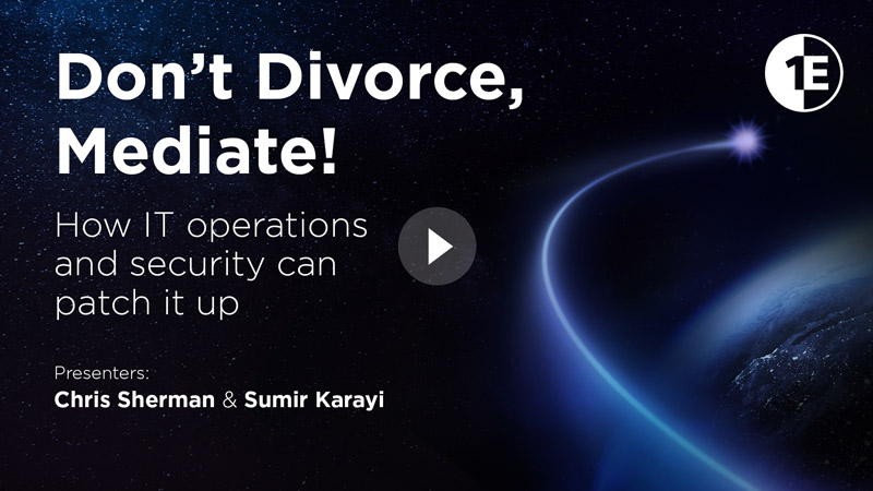 Don't Divorce, Mediate!