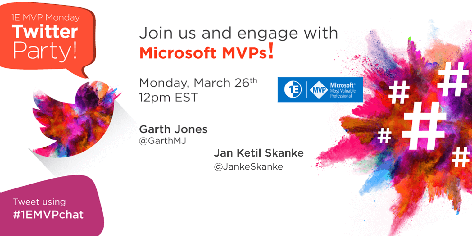 #1EMVPchat Twitter Party March 26th