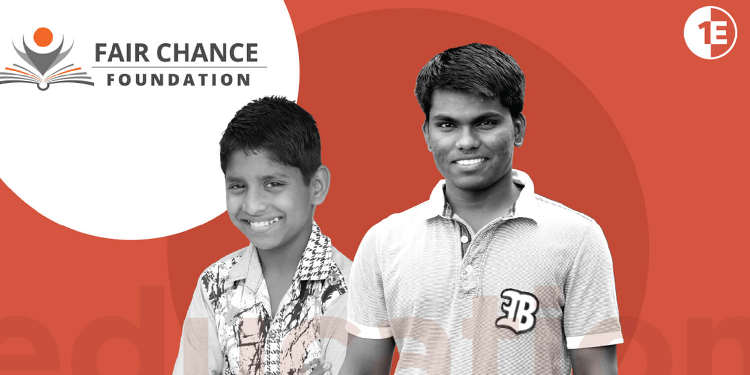 How 1E and the Manav Mandir Ashram are giving kids a fair chance