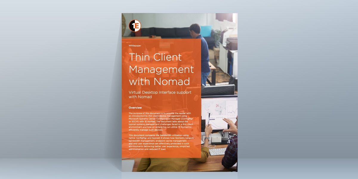 Thin Client Management with Nomad