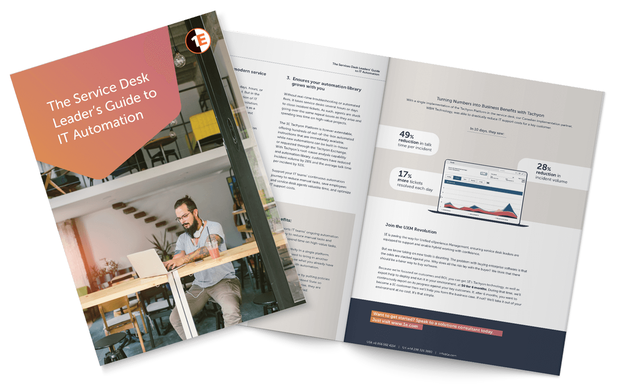 The Service Desk Leader's Guide to IT Automation